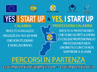 Formazione avvio d'impresa | in partenza percorso Yes I Start Up Calabria e Yes I Start Up Professioni Calabria